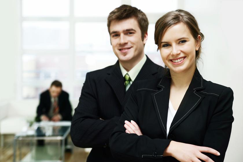 Man Woman Professionals