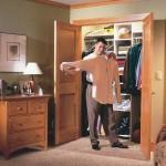 Mans closet